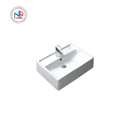 Chậu rửa mặt đặt bàn lavabo Inax AL-293V(EC/FC)