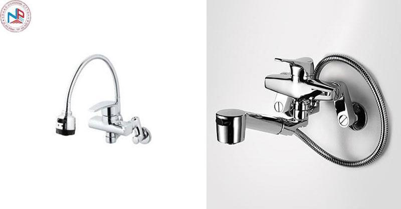 Ưu nhược điểm giữa vòi rửa bát rửa chén gắn tường và gắn chậu 1