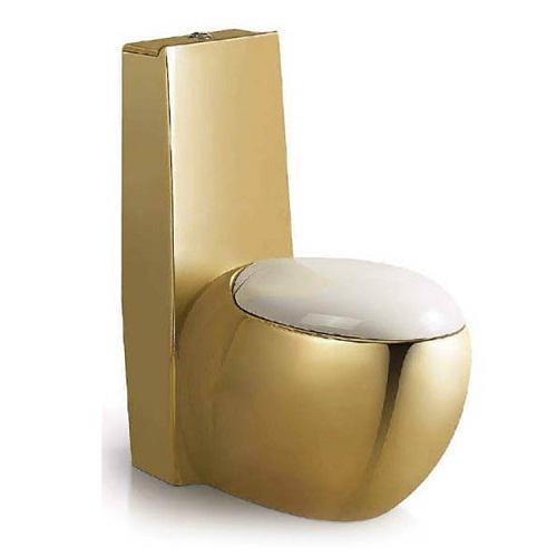 Bồn cầu nghệ thuật mạ vàng A-3966G-2