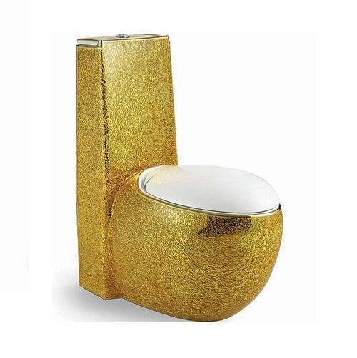 Bồn cầu nghệ thuật mạ vàng A-3966G-3