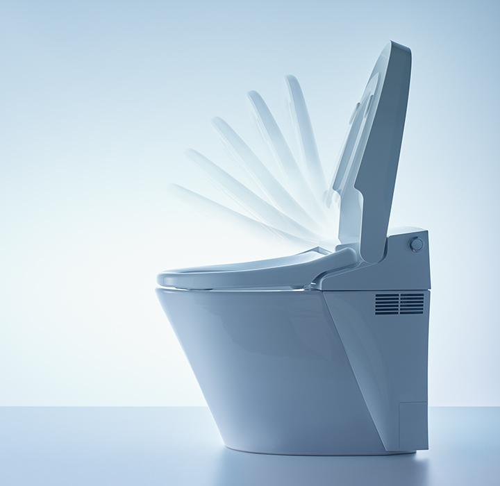 Công nghệ bồn cầu thông minh Inax 1