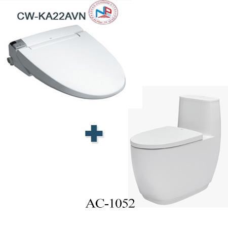 Bồn cầu Inax AC-1052 + CW-KA22AVN một khối