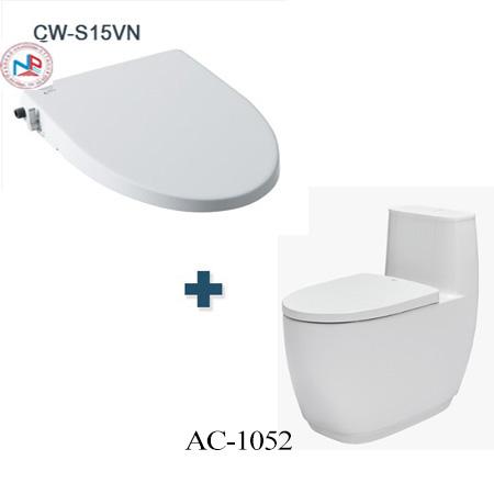 Bồn cầu Inax AC-1052 + CW-S15VN một khối