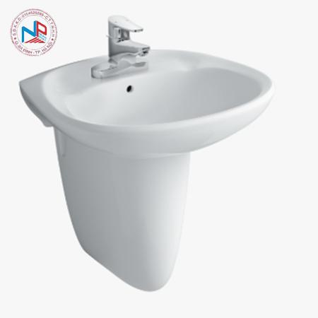 Chân chậu rửa mặt lavabo Inax L-284VC/BW1 màu trắng