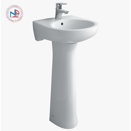 Chân chậu rửa mặt lavabo Inax L-284VD/BW1 màu trắng