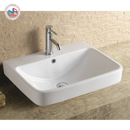 Chậu rửa mặt lavabo ROY R-1070 đặt bàn