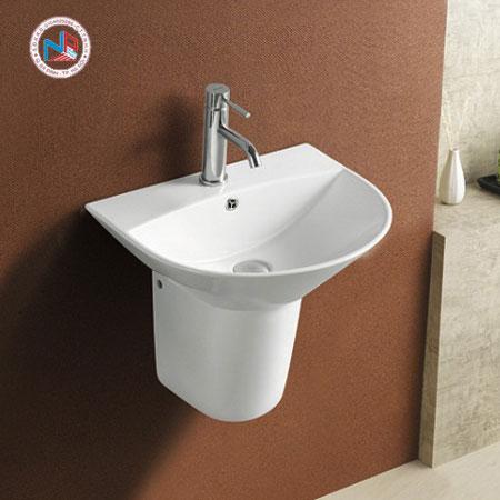 Chậu rửa mặt lavabo ROY R-5300SE/5300SE-H chân lửng
