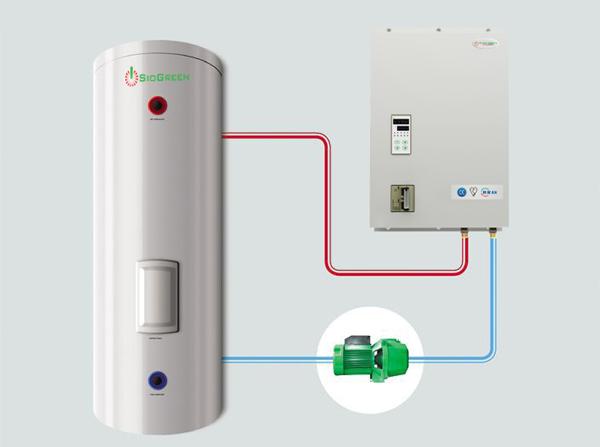 Bình nước nóng công nghiệp SuperGreen IR-8000