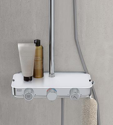 Mẫu sen tăm có củ sen cây tắm điều chỉnh nhiệt độ American Standard WF-4955