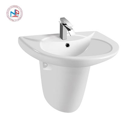 Chậu rửa mặt lavabo Paffoni PA-017/017H chân lửng