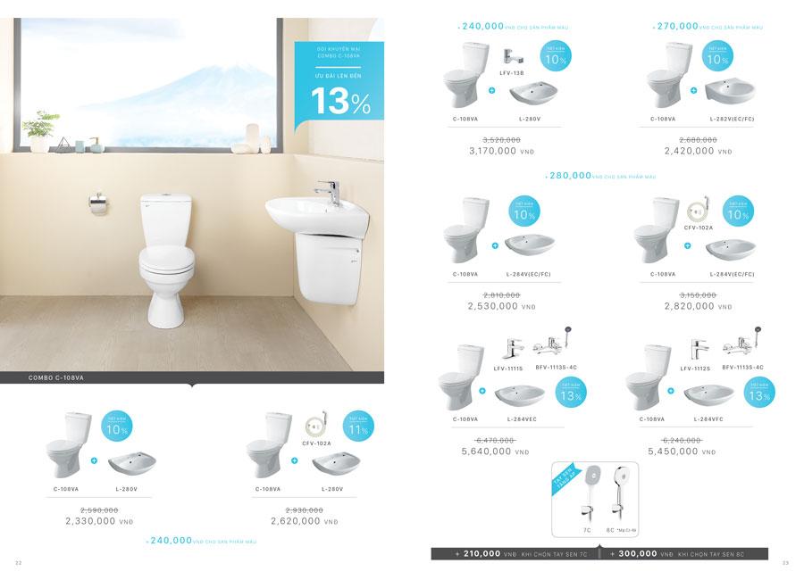 Khuyến mại cobo thiết bị phòng tắm