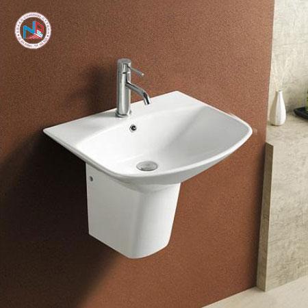 Chậu rửa mặt lavabo Paffoni PA-5200SE/5200SE-H chân lửng