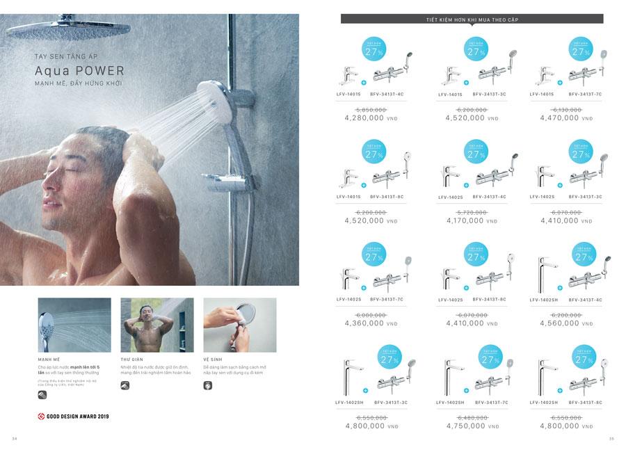 Khuyến mại thiết bị vệ sinh INAX