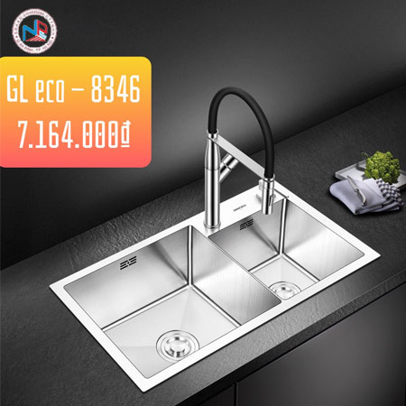 Chậu rửa bát Geler GL Eco-8346