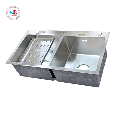 Chậu rửa bát Picenza HM7843-616 (inox 304)