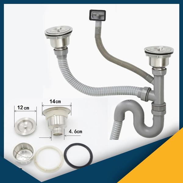 cách vệ sinh ống xả thải