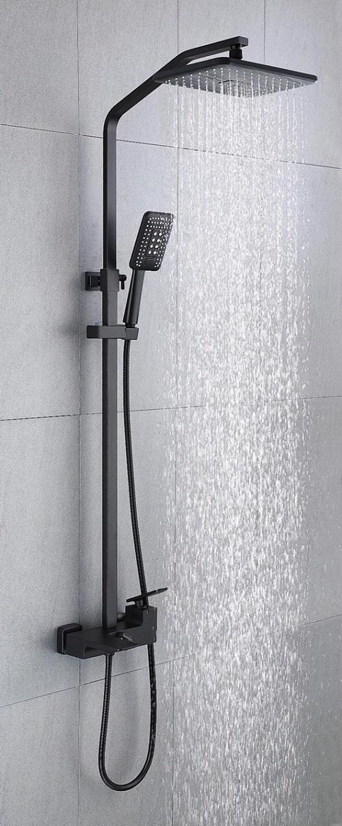 Sen cây tắm mạ màu đen YDL 1905