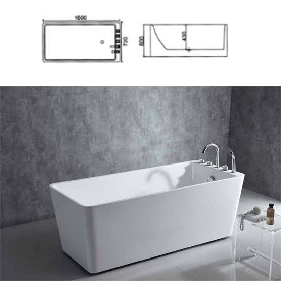 Bồn tắm Sewo D-1001