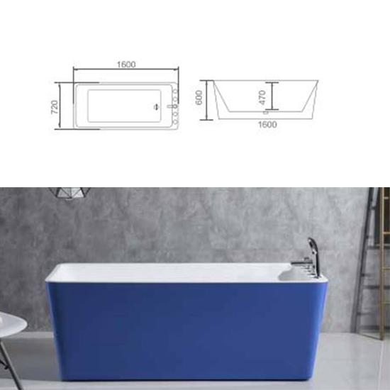 Bồn tắm Sewo D-1001LB