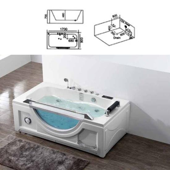 Bồn tắm massage Sewo B-2220 (L/R)