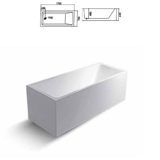 Bồn tắm Sewo D-1003