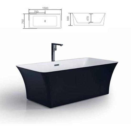 Bồn tắm Sewo D-1007HB