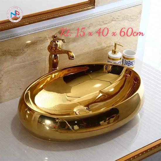 Chậu rửa lavabo nghệ thuật NP403