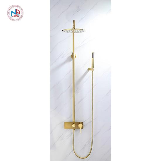 Sen cây tắm mạ vàng NP414