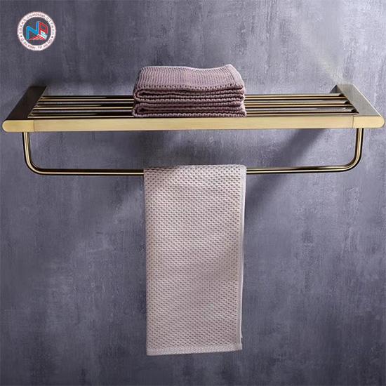 Vắt khăn giàn mạ vàng NP410