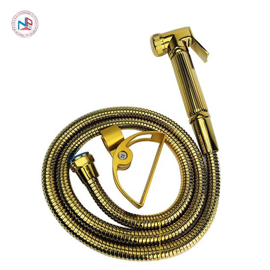 Vòi xịt toilet mạ vàng NP401