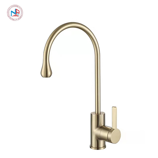 Vòi rửa bát mạ vàng NP413