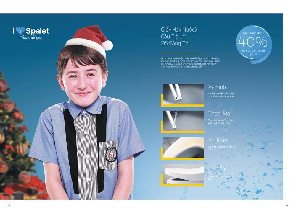 Khuyến mại thiết bị vệ sinh American Standard mùa đông