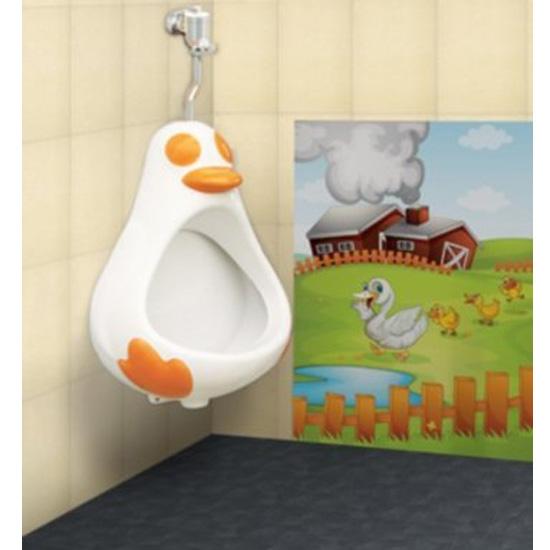 Bồn cầu trẻ em thiên thanh Urinal Ducky