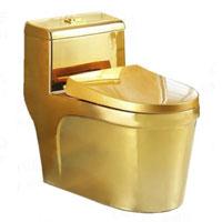 Bồn cầu mạ vàng quý tộc 3