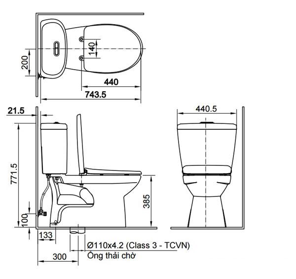 Bước 1: Xác định loại bồn cần lắp đặt 1