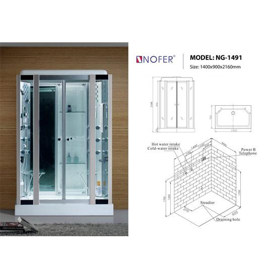 Phòng xông hơi NOFER NG-1491
