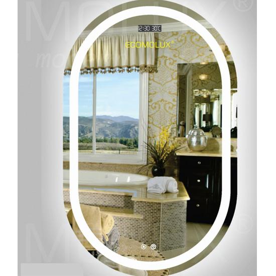 Gương Oval ECOMOLUX BHO-X2