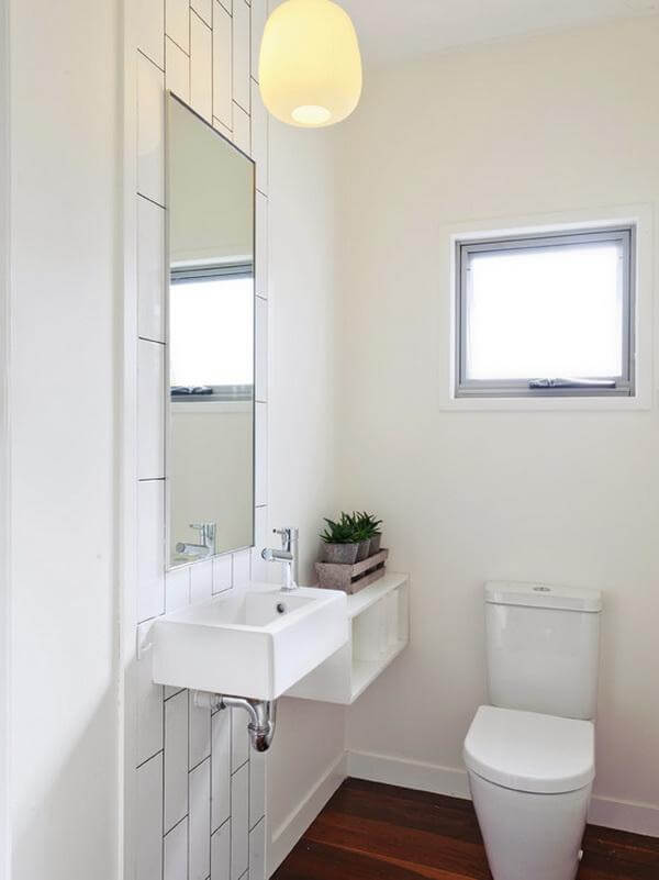 Lavabo đẹp cho không gian phòng tắm nhỏ 1