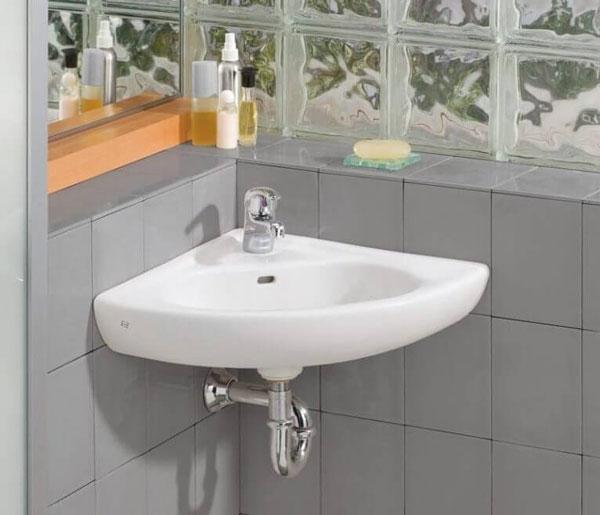 lavabo góc đẹp cho phòng tắm