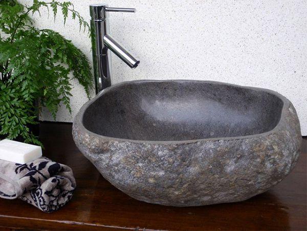Lavabo đá đẹp độc đáo mang nét cổ điển 1