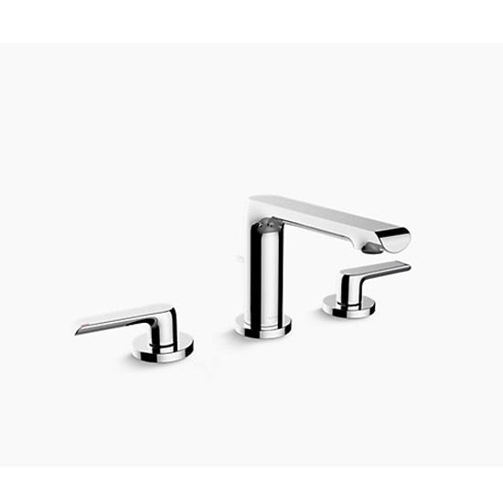 Vòi rửa lavabo Kohler K-97352T-4-CP