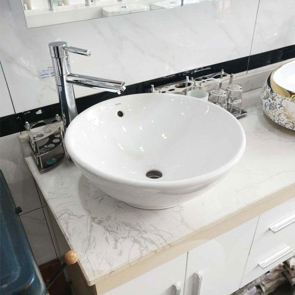 Top bồn rửa mặt loại nhỏ phù hợp cho không gian hẹp