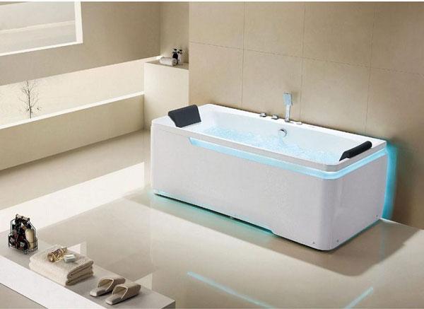 Nên dùng bồn tắm massage loại nào tốt?