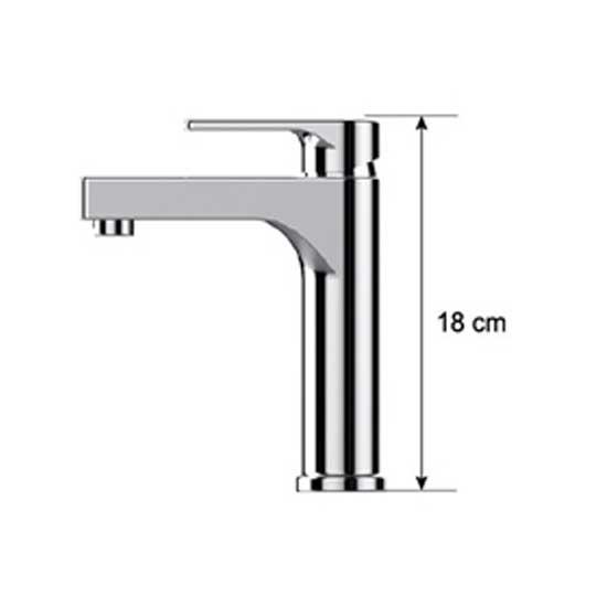 Vòi rửa lavabo Daeshin FFL-0013 nóng lạnh