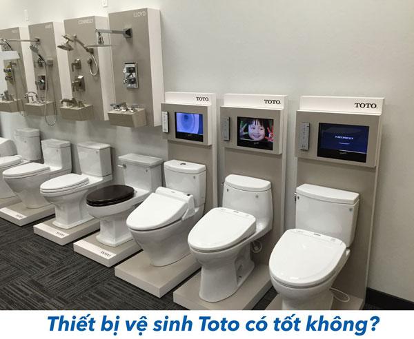 Tìm hiểu thiết bị vệ sinh TOTO có tốt không