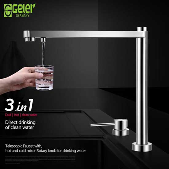 Vòi rửa bát Geler GL-3060