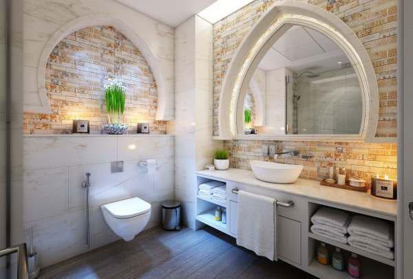 Một số gợi ý thiết kế phòng vệ sinh đẹp nhất 3