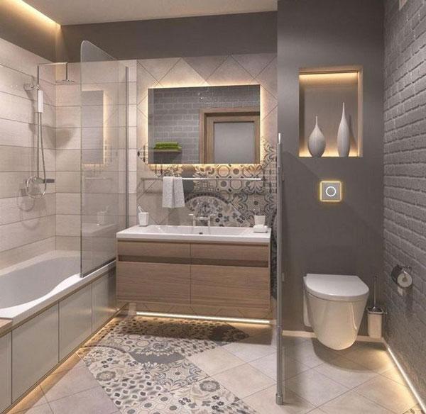 Tổng hợp mẫu thiết kế phòng tắm 4m2 1