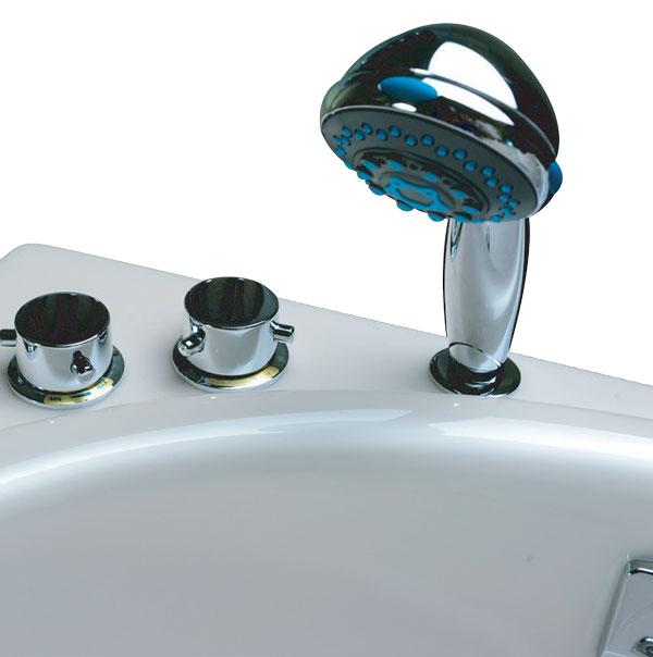Bồn tắm massage ngọc trai MICIO PM-160R (Yếm phải)