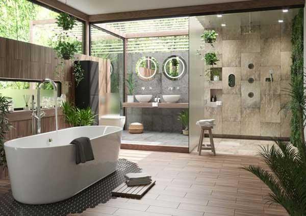 Thiết kế phòng vệ sinh khách sạn đẹp chuẩn 5 sao